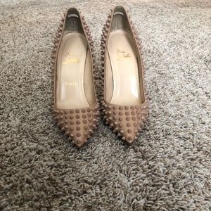 Christian Louboutin Spiked Pigalle 100cm